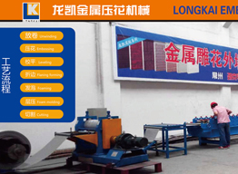 Metal decorative wall board production line